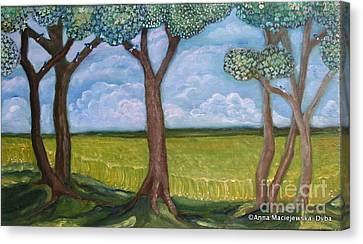Open Fields Canvas Print