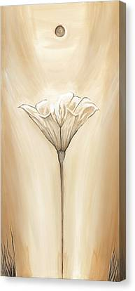 Open Flower Canvas Print