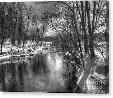 Canvas Print featuring the photograph Open River by Betsy Zimmerli