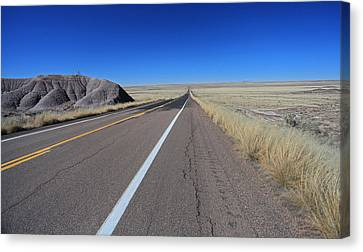 Open Road Canvas Print by Gary Kaylor