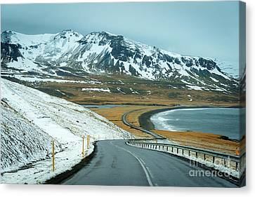 Open Road Canvas Print by Svetlana Sewell