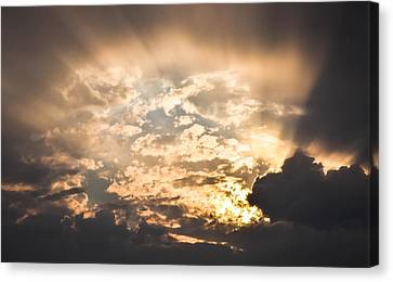 Open The Sky Canvas Print by Cco