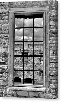 Open Window Canvas Print by Kristi Beers-Mason
