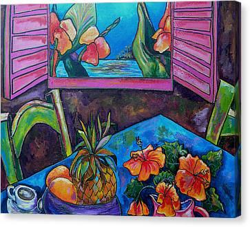 Open Window Canvas Print by Patti Schermerhorn