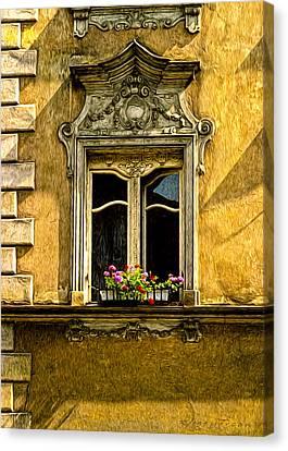 Open Window Canvas Print by Robert Meyerson