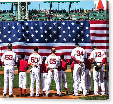 Opening Day 2015 Canvas Print