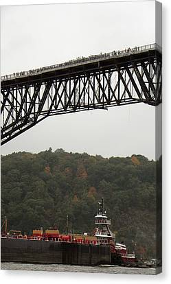 Opening Day Of  Walkway Over The Hudson 2009 Canvas Print