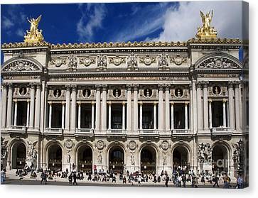 Opera Garnier. Paris. France Canvas Print by Bernard Jaubert