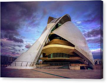 Spanish House Canvas Print - Opera House Valencia  by Carol Japp
