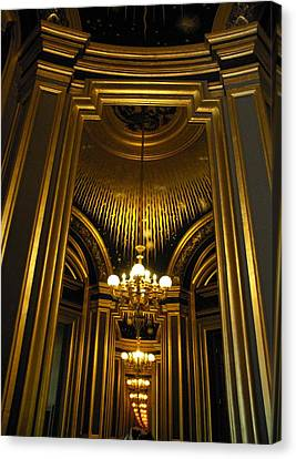 Opera Mirrors II Canvas Print
