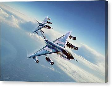 Operation Heat Rise Canvas Print by Peter Chilelli
