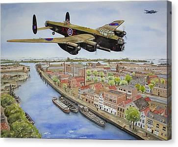 Operation Manna II Canvas Print by Gale Cochran-Smith