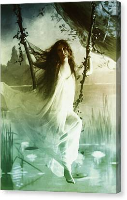 Ophelia 1895 Canvas Print by Bill Cannon