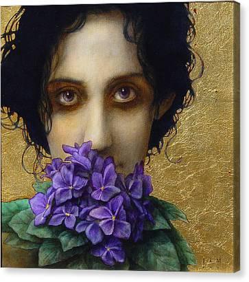 Ophelia Canvas Print - Ophelia by Jose Luis Munoz Luque