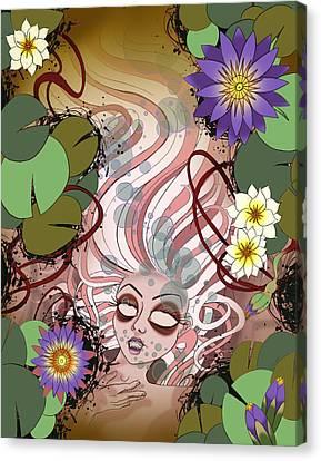 Ophelia Canvas Print - Ophelia by Kate Collins