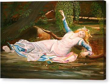 Ophelia  Canvas Print by Steve Jones
