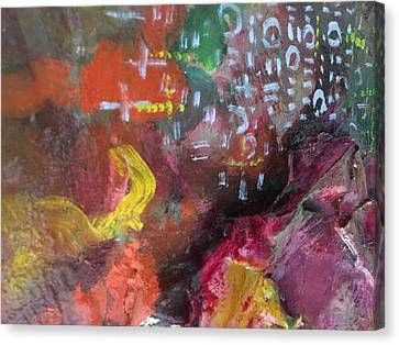 Opon Ifa Canvas Print by Matthew Adeyinka Olaiya