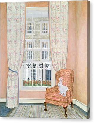 Opposite Windows Canvas Print by Ditz