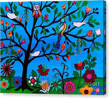 Optimism Canvas Print by Pristine Cartera Turkus