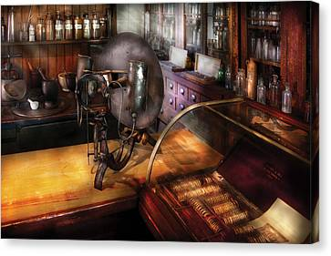 Optometrist - Number 1 Or Number 2  Canvas Print by Mike Savad