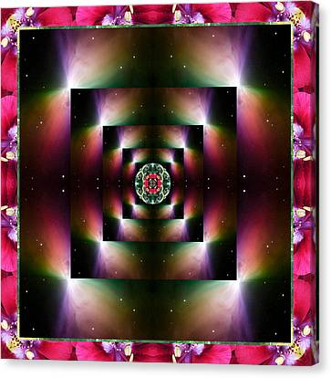 Cosmic Space Canvas Print - Opulence by Bell And Todd