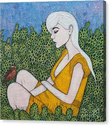 Opuntia Canvas Print by Natalie Briney