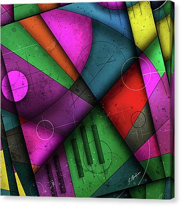 Opus No.7c Canvas Print by Gary Bodnar