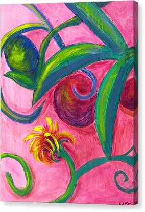 Opus Seven Canvas Print by Rebecca Merola