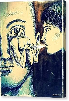 Oral Teachings Canvas Print by Paulo Zerbato