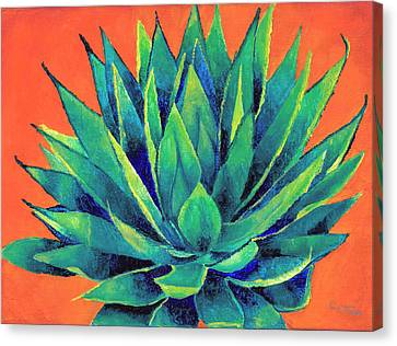 Orange And Agave Canvas Print