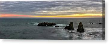 Orange And Yellow Canvas Print by Jon Glaser
