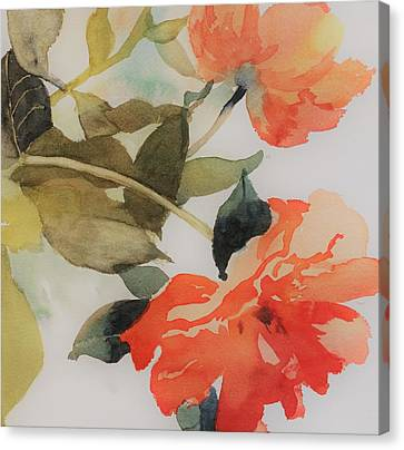 Orange Blossom Special Canvas Print by Elizabeth Carr
