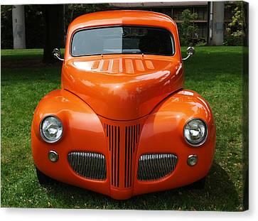 Orange Classic  Canvas Print
