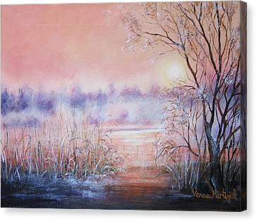 Orange Mist Canvas Print