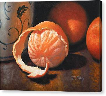 Orange Peeled Canvas Print