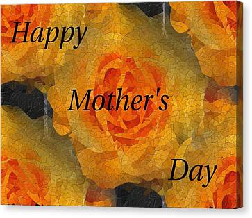 Orange You Lovely Mothers Day Canvas Print by Tim Allen