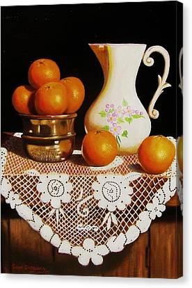 Orange You Sweet  Canvas Print