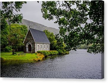 Oratory In Gougane Barra National Park In Ireland Canvas Print