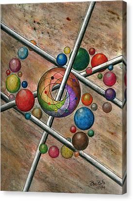 Orbital Ker Plunk  Canvas Print