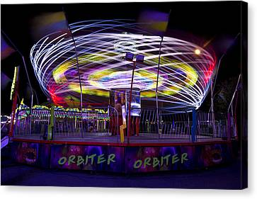Orbiter Canvas Print by Regina  Williams