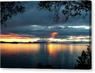 Orcas Island Sunset Canvas Print