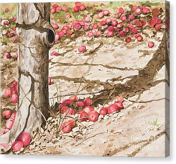Orchard Afternoon Canvas Print by Carla Dabney