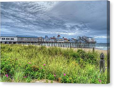 Orchard Beach Canvas Print by Randy Dyer
