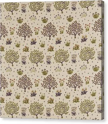 Orchard  Canvas Print by William Morris