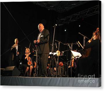 Canvas Print featuring the photograph Orchestra 05 by Ausra Huntington nee Paulauskaite