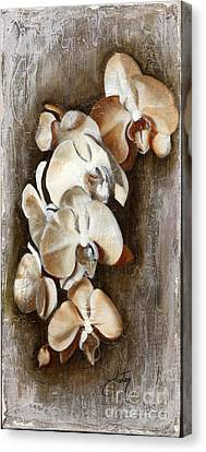 Orchid Ladder Canvas Print by Daniela Easter