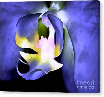 Orchid Of Life Canvas Print by Krissy Katsimbras