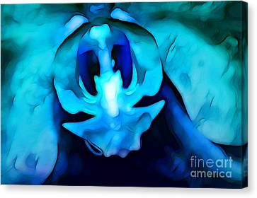 Orchid Prince Canvas Print by Krissy Katsimbras