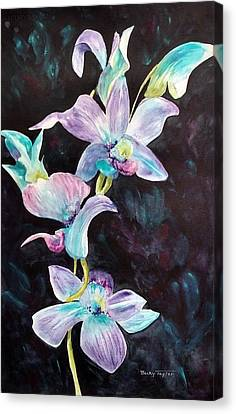 Orchids Alive Canvas Print