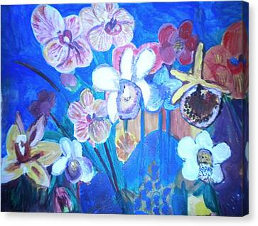 Orchids In My Dream Canvas Print